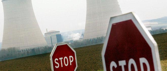 La centrale nucléaire de Nogent-sur-Seine, dont les deux réacteurs étaient à l'arrêt à la suite d'une fuite d'eau en février 2016.