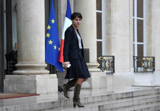 Najat Vallaud-Belkacem à sa sortie du conseil des ministres, le 8 novembre 2016 à Paris © STEPHANE DE SAKUTIN AFP/Archives