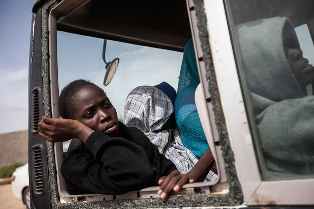 Human trafficking 19: Surman, June. ©  Narciso Contreras pour la Fondation Carmignac