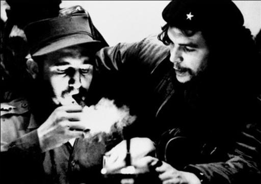 Fidel Castro et Ernesto Che Guevara le 25 novembre 2016 à La Havane  © Roberto SALAS CUBADEBATE/AFP/Archives