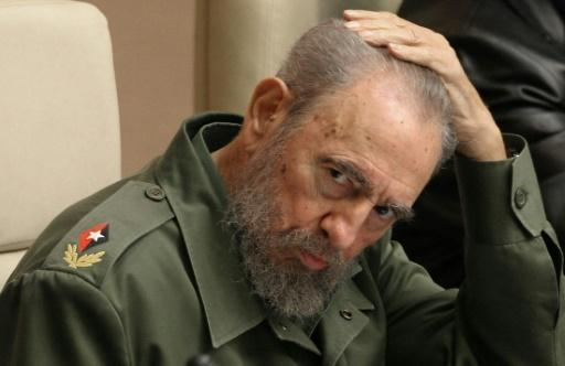Fidel Castro le 12 février 2015 à La Havane © ADALBERTO ROQUE AFP/Archives