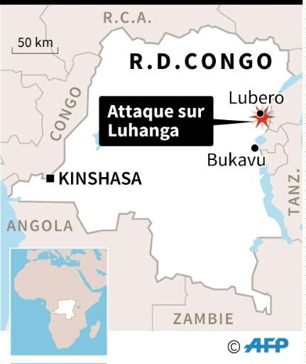RDC: 34 civils tués dans l'attaque d'un village hutu © Vincent LEFAI, Valentina BRESCHI AFP