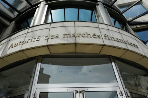 Le siège de l'Autorité des marchés financiers (AMF) à Paris, le 2 juin 2014. Le régulateur boursier français a ouvert une enquête dans l'affaire du faux communiqué qui a touché Vinci © ERIC PIERMONT AFP/Archives