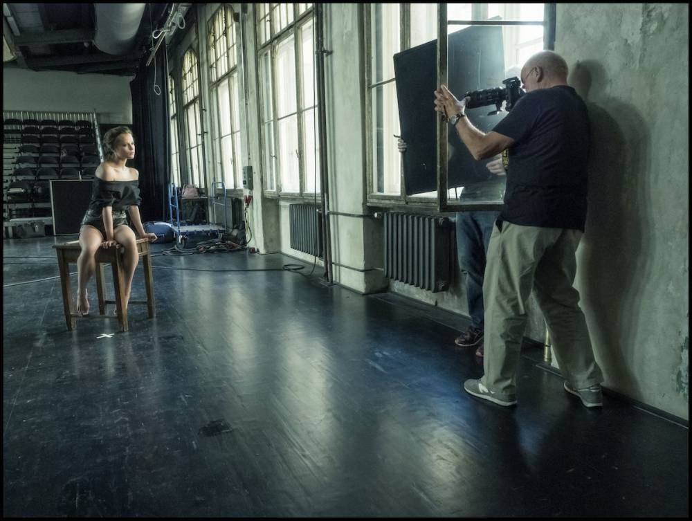 Behind The Scenes - Pirelli The Cal 2017 by Peter Lindbergh © Alessandro Scotti Pirelli