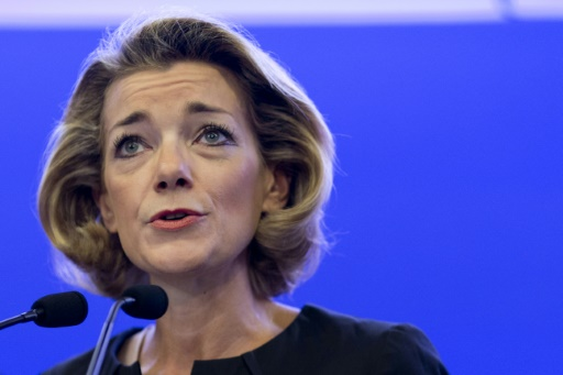 La juriste Anne Levade, présidente de la Haute Autorité de la primaire, à Paris le 15 octobre 2014 © KENZO TRIBOUILLARD AFP/Archives