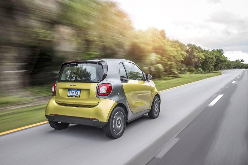 smart electric drive, Pressefahrvorstellung Miami 2016; smart electric drive, press test drive Miami 2016 © Daimler AG Daimler AG
