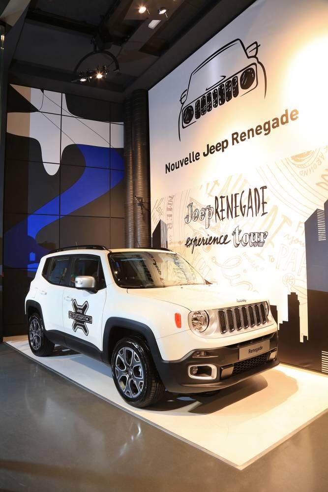 Expo Jeep Renegade Experience Tour MotorVillage © Jeep