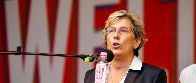 Marie-Noëlle Lienemann, candidate à la primaire de la gauche, veut initier le rassemblement de l'aile gauche pour battre Manuel Valls.