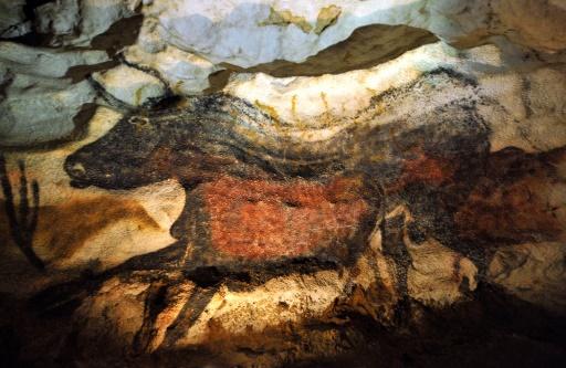 A l'origine de cette découverte, un chien qui tombe en arrêt le 8 septembre 1940 devant un trou profond sur la colline boisée de Lascaux. Son maître, un apprenti mécanicien, Marcel Ravidat, décide de revenir l'explorer 4 jours plus tard, le 12 septembre. © PIERRE ANDRIEU POOL/AFP/Archives