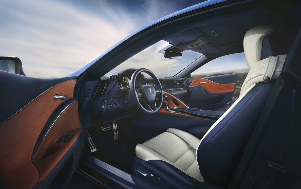 Lexus LC Coupé et hybride