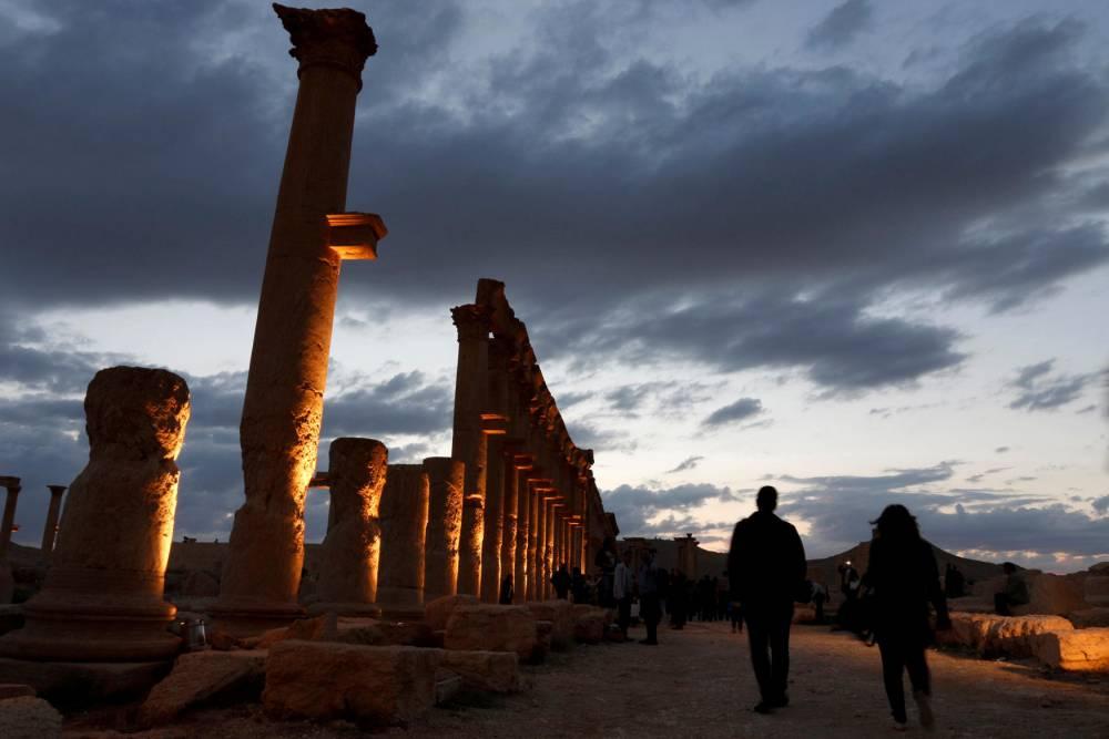 MIDEAST-CRISIS/PALMYRA CONCERT ©   Omar Sanadiki / Reuters