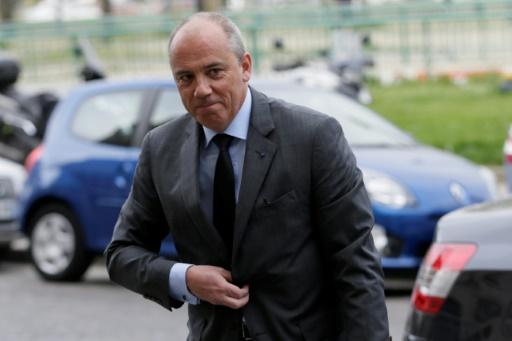Stéphane Richard, PDG d'Orange, le 19 mars 2014 à Paris © KENZO TRIBOUILLARD AFP/Archives