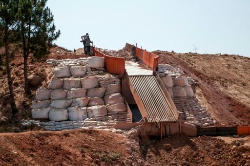 Une mine d'or exploitée par de la société chinoise Jiuxing à Soamahamanina, à Madagascar, le 7 octobre 2016 © RIJASOLO AFP/Archives
