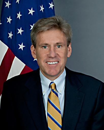 Photo non datée de l'ambassadeur américain en Libye Christopher Stevens, assassiné le 11 septembre 2012 à Benghazi © HO US STATE DEPARTMENT/AFP/Archives