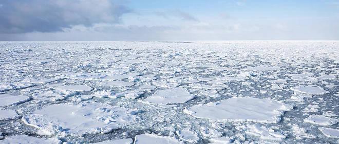 L'accroissement de la glace a été anormalement lent pendant la première et troisième semaine de novembre 2016.