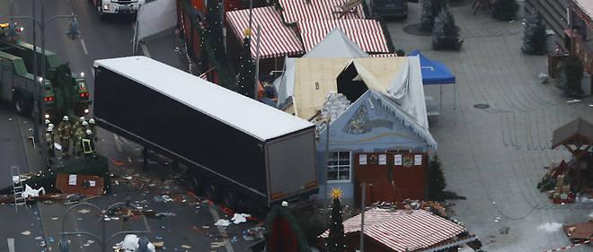 L'attentat de Berlin a fait 12 morts lundi soir sur un marché de Noël.