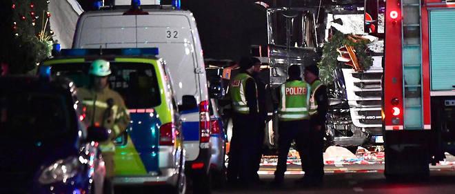 Le 19 décembre, un camion a foncé sur plusieurs chalets d'un des marchés de Noël de Berlin, faisant 12 morts et 48 blessés.