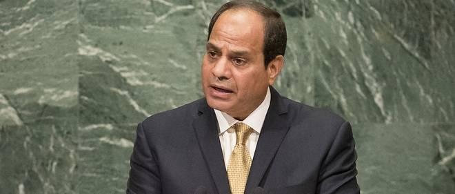Le président égyptienAbdel Fattah al-Sissi à la tribune des Nations unies en septembre 2016.