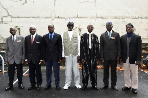 Des anciens tirailleurs sénégalais, le 22 décembre 2016 à Bondy, près de Paris © BERTRAND GUAY AFP