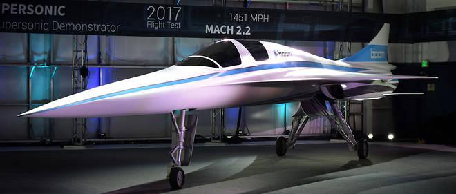 supersonique avion de ligne