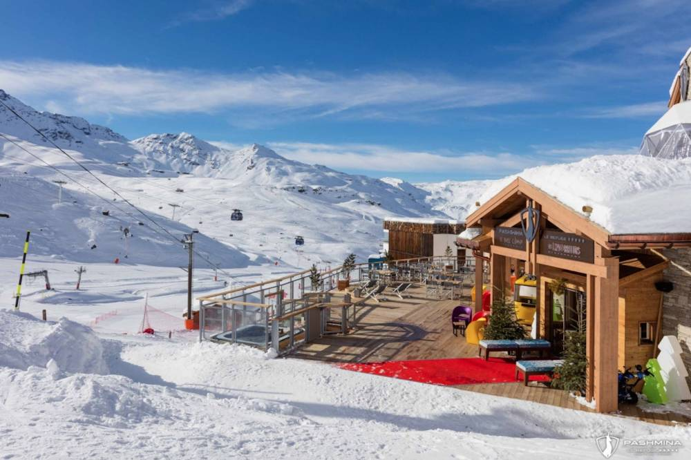 Val thorens, Pashmina, hôtel, ski, trois vallées ©  DR