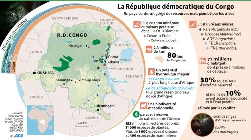 La République démocratique du Congo © Sabrina BLANCHARD, Aude GENET, Maud ZABA AFP