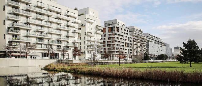 Reconversion. L'écoquartier du Trapèze, sur le site des anciennes usines Renault face à l'île Seguin.