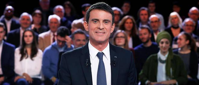 """Manuel Valls était l'invité de """"L'Émission politique""""."""