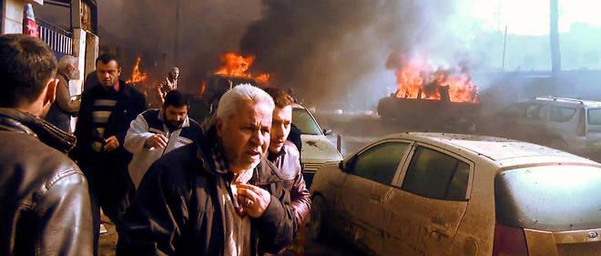 Des dizaines de personnes ont été blessées par la déflagration qui s'est produite sur un marché.