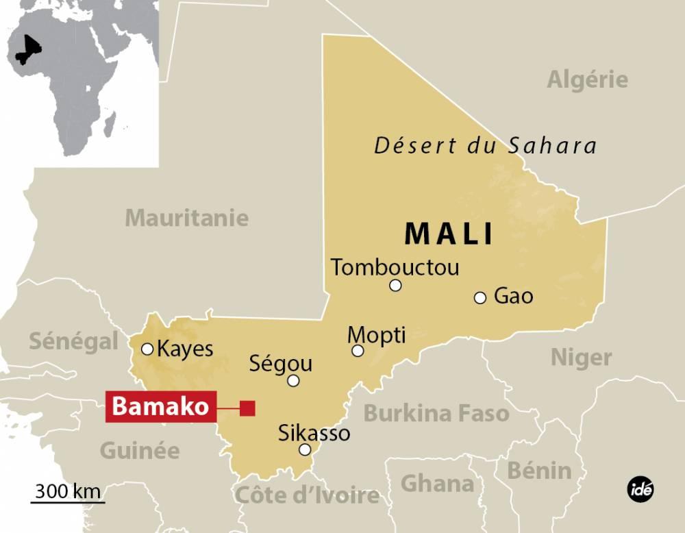 Carte Mali - Bamako ©  Le Point