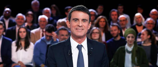 Manuel Valls était l'invité de L'Émission politique de France 2 jeudi 5 janvier.