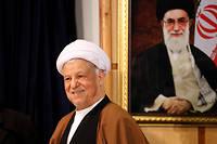L'ancien président Ali Akbar Hachemi Rafsandjani, décédé dimanche 8 janvier, était l'une des personnalités les plus puissantes d'Iran. ©ATTA KENARE