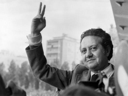 L'ancien président portugais Mario Soares le 15 mai 1974 à Lisbonne   ©  AFP/Archives