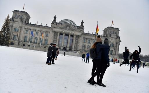 Le bâtiment du Parlement à Berlin le 8 janvier 2017 © John MACDOUGALL AFP