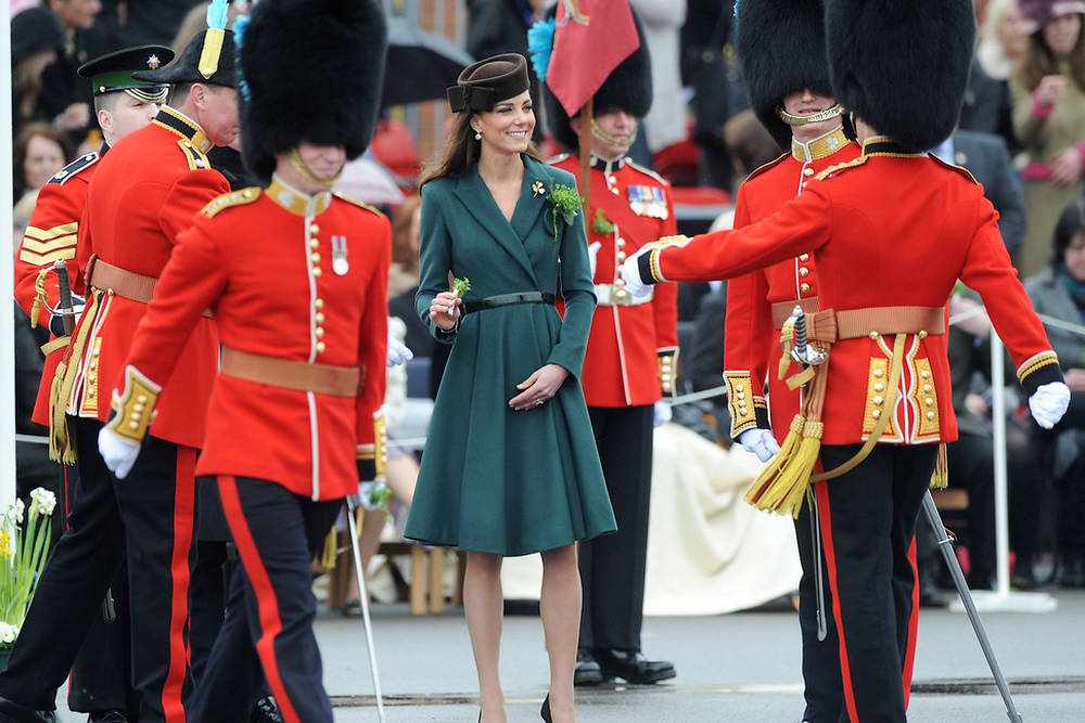 BRITAIN-IRELAND-ROYALS-ST PATRICK