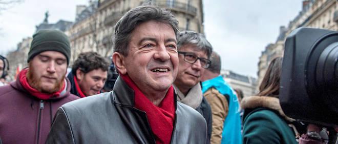 Jean-Luc Mélenchon peut avoir le sourire : 32 % des Français disent l'apprécier.