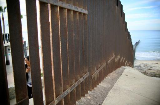 La frontière entre le Mexique et les Etats-Unis le 19 novembre 2016 à San Ysidro, Californie  © Sandy Huffaker AFP/Archives