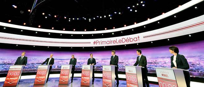 Lors de leur premier débat, les sept candidats à la primaire de la gauche étaient bien contraints d'assumer tout ou partie d'un héritage qu'ils cherchent simultanément à capter tout en le reniant partiellement ou totalement.