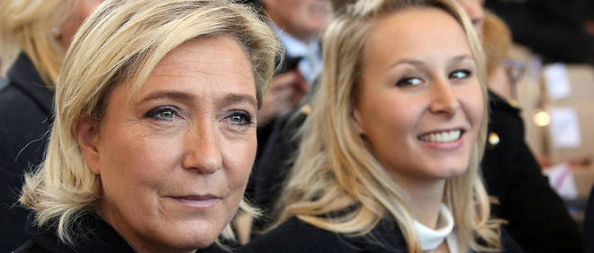 La tante et la nièce représentent deux visions du Front national. Pour l'instant, l'unité tient. Mais jusqu'à quand ?