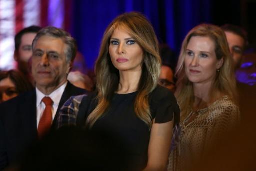 Melania Trump à New York le 26 avril 2016 © SPENCER PLATT GETTY IMAGES NORTH AMERICA/AFP/Archives