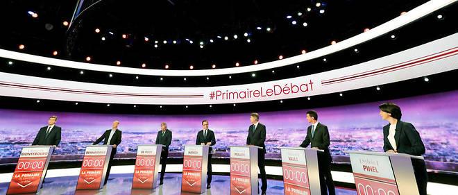 Arnaud Montebourg et surtout Benoît Hamon enregistrent une belle progression auprès des sympathisants socialistes.