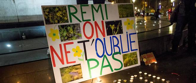 Rémi Fraisse a succombé à l'explosion d'une grenade tirée par un gendarme lors d'affrontements sur le chantier de la retenue d'eau controversée de Sivens, le 26 octobre 2014.