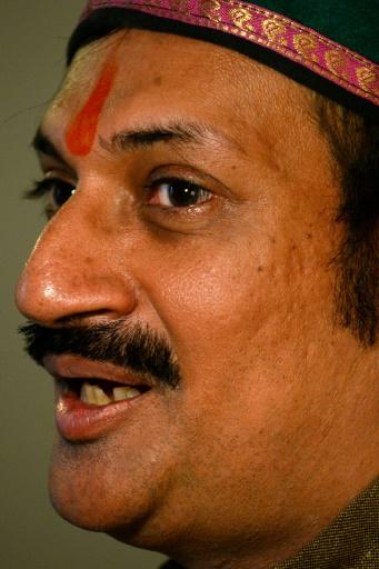 Lorsqu'il a fait son coming-out public en 2006, Manvendra Singh Gohil descendant d'un clan royal guerrier dans le très conservateur Etat du Gujarat (ouest) a été répudié par sa famille, ici le 12 décembre à New Delhi © Sajjad HUSSAIN AFP/Archives