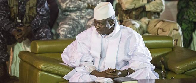 Le président Yahya Jammeh, ici à Banjul le 29 novembre 2016.
