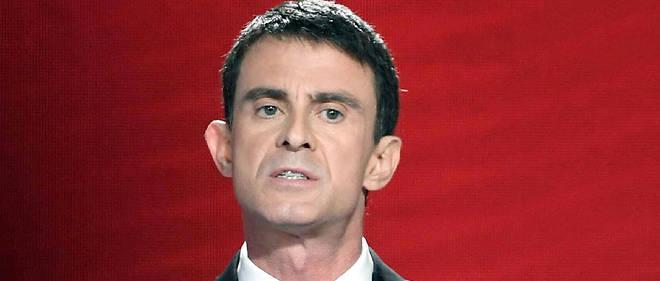 Manuel Valls en meeting.