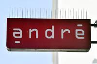 L'enseigne André, qui appartient au groupe Vivarte, pourrait être concernée par la restructuration. ©GEORGES GOBET