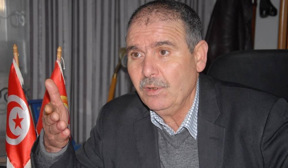 Noureddine Taboubi  est l'actuel secrétaire général adjoint de l'UGTT et le candidat susceptible de succéder à Houcine Abbassi à la tête du sécrétariat générale de l'UGTT.  ©  DR