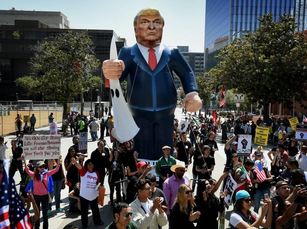 US-POLITICS-IMMIGRATION-CALIFORNIA ©  MARK RALSTON / GETTY IMAGES NORTH AMERICA / AFP