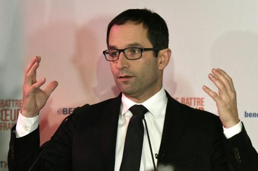 Benoît Hamon le 22 janvier 20107 à Paris  © bertrand GUAY AFP