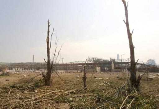 Vue du site de l'usine chimique AZF à Toulouse le 21 septembre 2001 après l'explosion qui a fait 31 morts et 2.500 blessés © PASCAL PAVANI AFP/Archives